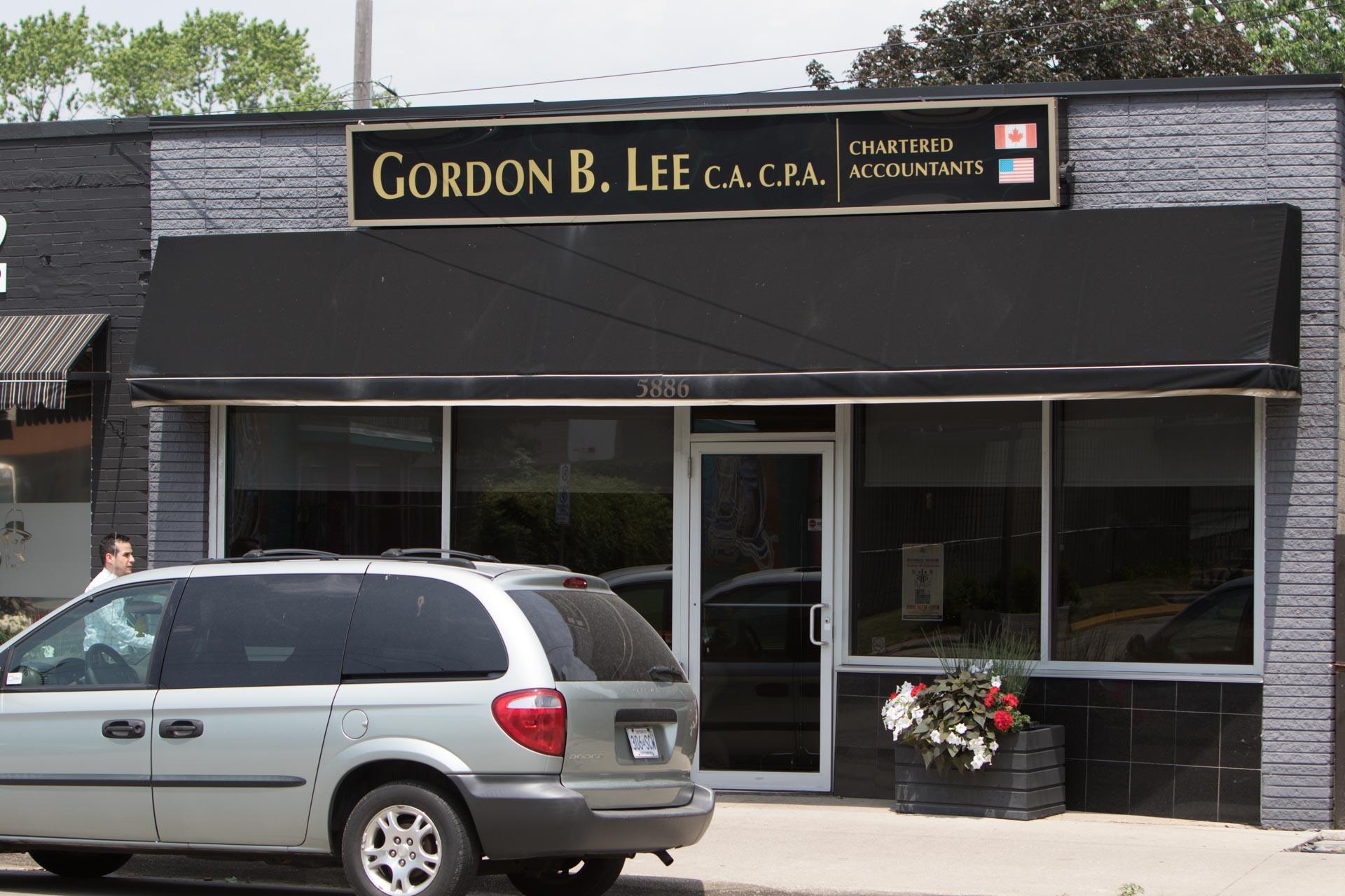 Gordon B. Lee C.A C.P.A Chartered Accountants