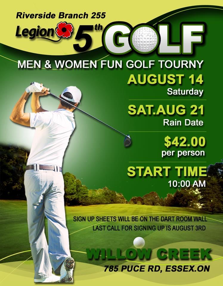 5th Annual Mixed Golf Tournament