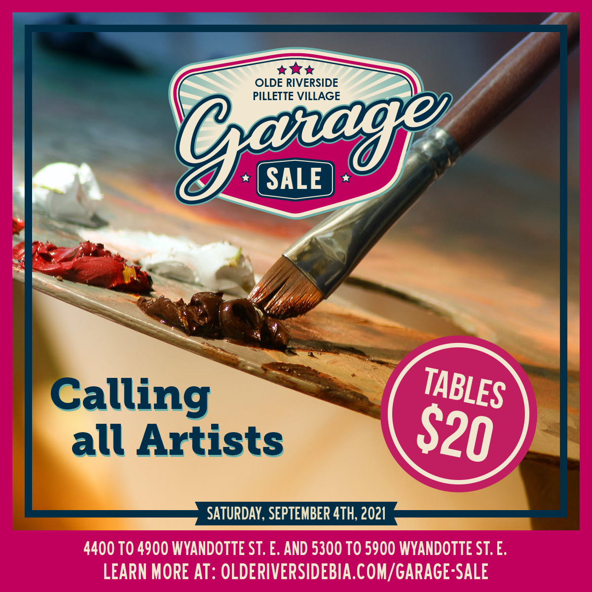 Calling all Artists and Crafters!